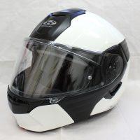 ヘルメット 買取 OGK Kabuto Kazami システムヘルメット ホワイトメタリック/ブラック
