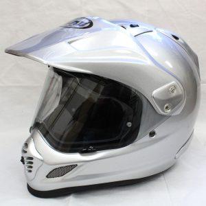 ヘルメット 買取 Arai アライ TOURCROSS3 ツアークロス3 フルフェイスヘルメット アルミナシルバー
