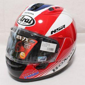 ヘルメット 買取 Arai アライ RX-7X NSR250R フルフェイスヘルメット