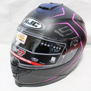ヘルメット 買取 HJC IS-17 LANK MC8SF フルフェイスヘルメット ブラック/パープル