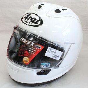 ヘルメット 買取 Arai アライ RX-7X フルフェイスヘルメット グラスホワイト