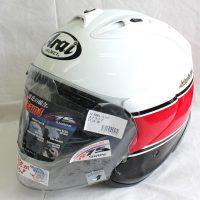 ヘルメット 買取 ヤマハ ワイズギア ×アライ SZ-Ram4 ストライプ ジェットヘルメット