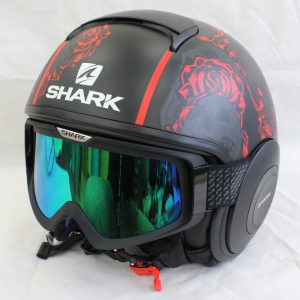 ヘルメット バイク用品 買取 SHARK シャーク DRAK SANCTUS Mat JIS KRA ジェットヘルメット