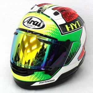 ヘルメット 買取 バイク用品 Arai アライ RX-7X GIUGLIANO ジュリアーノ フルフェイスヘルメット