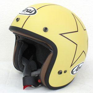 ヘルメット 買取 Arai アライ CLASSIC MOD STARS CAMEL ジェットヘルメット
