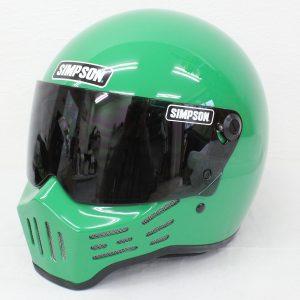 ヘルメット 買取 SIMPSON シンプソン M30 フルフェイスヘルメット グリーン