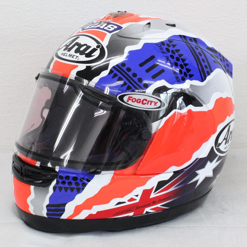 ヘルメット 買取 Arai アライ シグネットRR ドゥーハン WGPチャンピオン 5連覇記念 フルフェイスヘルメット