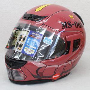 ヘルメット 買取 OGK Kabuto Teleos3 テレオス3 機動戦士ガンダム コラボモデル シャアザク TYPE CHAR3 フルフェイスヘルメット